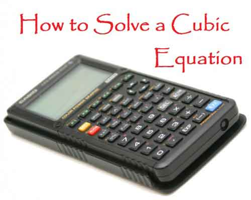 cubic-equation