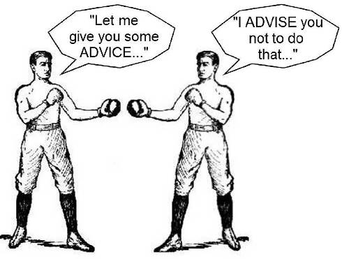 advice-advise