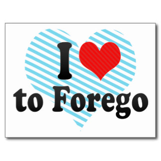 forego